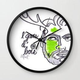 L'gars d'bois Wall Clock