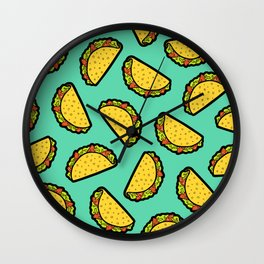 It's Taco Time! Wall Clock