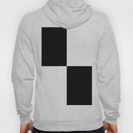 Black & White Squares Hoody