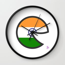 India Smile Wall Clock