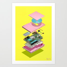 Assembly Required 7 Art Print