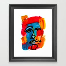 You Have to FaceYourself First Framed Art Print