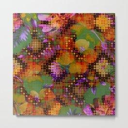 floral ghosts Metal Print