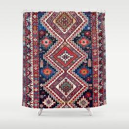 Kuba Antique East Caucasus Carpet Print Shower Curtain
