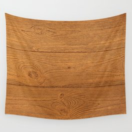 The Cabin Vintage Wood Grain Design Wall Tapestry