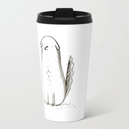 Sitting Dog Travel Mug