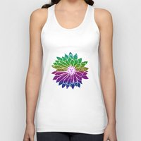 sunflower Tank Tops featuring SunFlower by haroulita