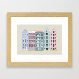 Amstedam architecture Framed Art Print
