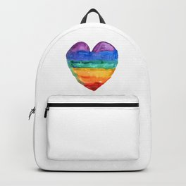 rainbow love Backpack