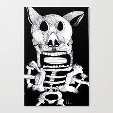 Pig Bat Canvas Print