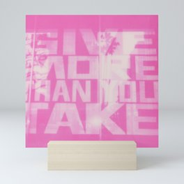 Give and Take Mini Art Print