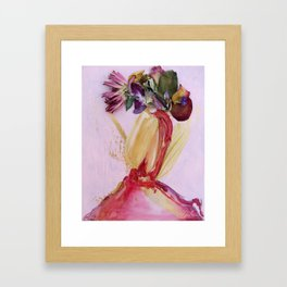 Save Face (3) Framed Art Print