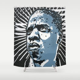 Jay-Z Shower Curtain