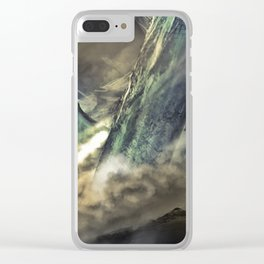Paradigm Shift | Creative Mind Trip Environmental Landscape Inception Clear iPhone Case