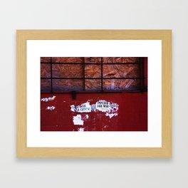 War Crimes Framed Art Print