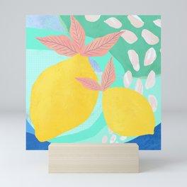Pink Lemonade - Shapes and Layers no.32 Mini Art Print