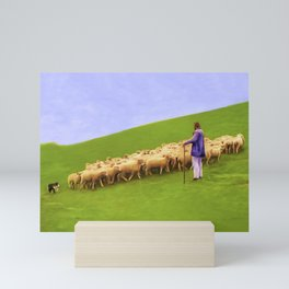 TEAMMATES Mini Art Print