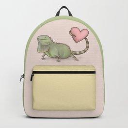 Iguana Love You Backpack