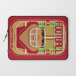 American Football Red and Gold - Enzone Puntfumbler - Seba version Laptop Sleeve