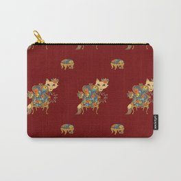 Fox and Chair Carry-All Pouch