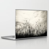 grass Laptop & iPad Skins featuring Grass by Angela Fanton