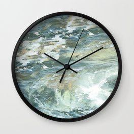 Cushion me soft, rock me billowy drowse, Dash me with amorous wet. Wall Clock
