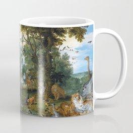 Jan Brueghel de Oude and Peter Paul Rubens - The Garden of Eden with the Fall of Man Coffee Mug