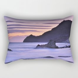 """Purple sea"" Rectangular Pillow"