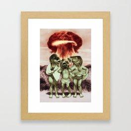 War vacation Framed Art Print