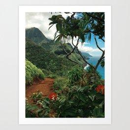 Kalalau Kauai Art Print