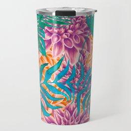 artistic floral cn Travel Mug
