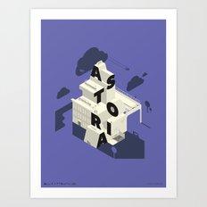 IsoAstoria Art Print