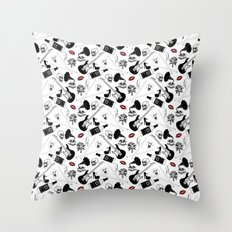 For the music enthusiasts. Throw Pillow