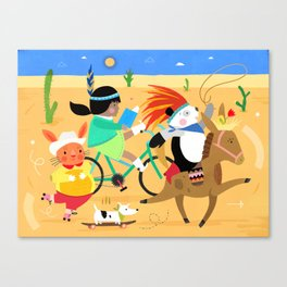 Yee-ha! Canvas Print