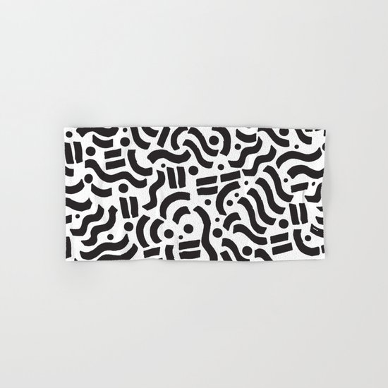 ABSTRACT 0018 Hand & Bath Towel