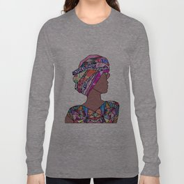 Woman in Colors - Marengo - Print [no tag] Long Sleeve T-shirt