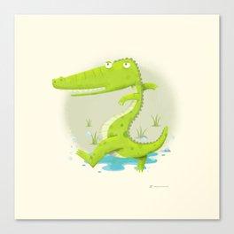 Croco Canvas Print