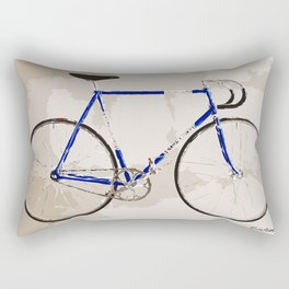 The Gios Track Bike Rectangular Pillow