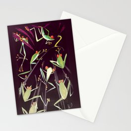 Froggy Jamboree or Inchworm Nightmare? Stationery Cards