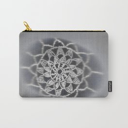 Oil on rock -- negative image Carry-All Pouch