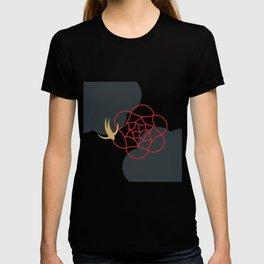Blooming Desert Rose Abstract Art Series 1 T-shirt