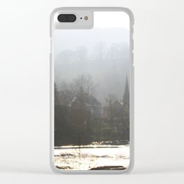 Town on the Valley Clear iPhone Case