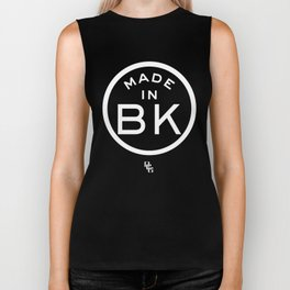 Brooklyn (white) Biker Tank