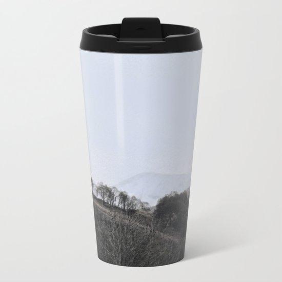 Away, away to the hills and the heart Metal Travel Mug