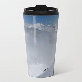 Alpine Mountain Climbers Travel Mug