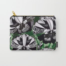 The Partisan Pansy Seed Packet Carry-All Pouch