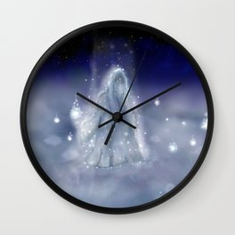 Keeper of the Wisps Wall Clock