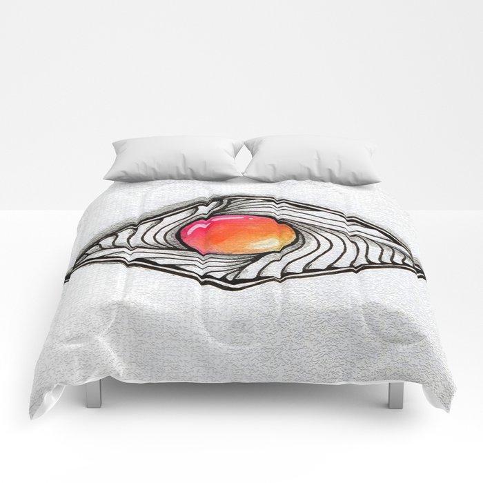 Doodled Gem Sparkle Eye Comforters