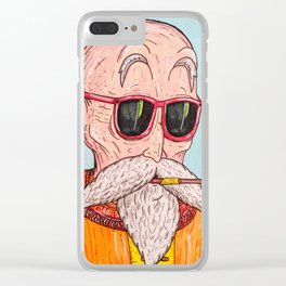 'Master Roshi' Clear iPhone Case