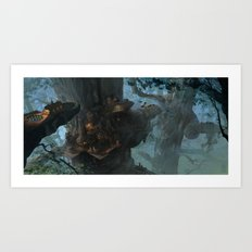 Below the Root Art Print
